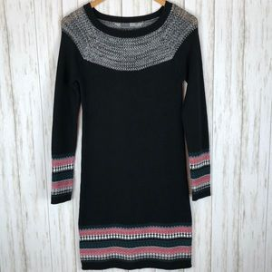 Athleta Nordic Fair Isle Sweater Dress